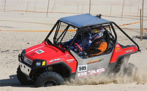Chris and Eric in the  RZR racing